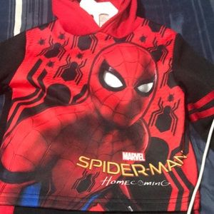 Spider-Man sweatsuit